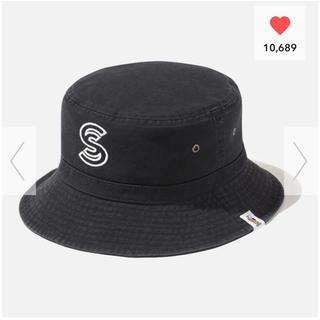 ジーユー(GU)の黒 GU × studio seven バケットハット スタジオセブン 帽子(ハット)