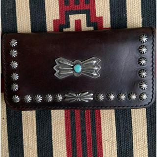 goro's - Larry Smith tracker wallet L シルバーコンチョ