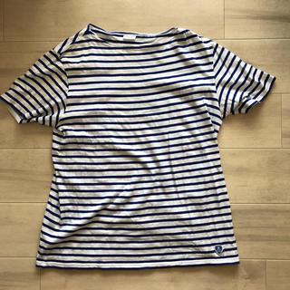 オーシバル(ORCIVAL)のOrcival オーチバル ボーダー 半袖シャツ 5(Tシャツ/カットソー(半袖/袖なし))