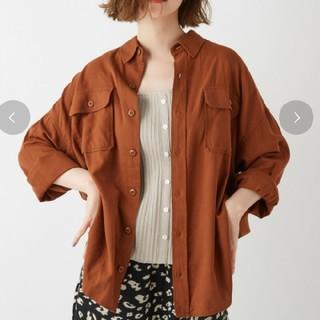 ディスコート(Discoat)のディスコート ポケット付ビッグシルエットミリタリーシャツ(シャツ/ブラウス(長袖/七分))