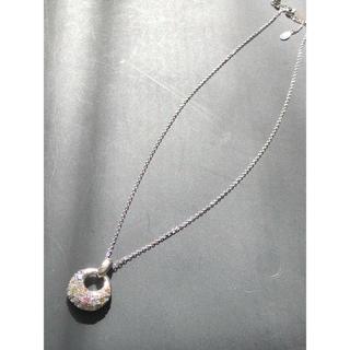 シルバー カラーストーン ネックレス(ネックレス)