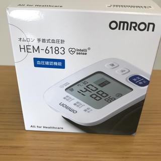 オムロン(OMRON)のオムロン手首血圧計 HEM-6183(健康/医学)