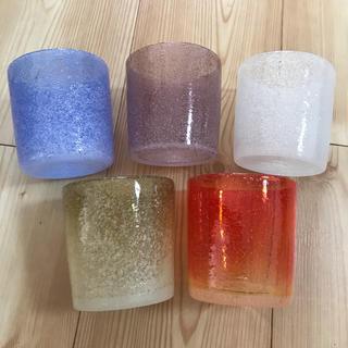 ちぃ様専用  ロックグラス 5個セット(グラス/カップ)