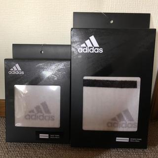 アディダス(adidas)のアディダス フェィス、スポーツタオルセット(タオル/バス用品)