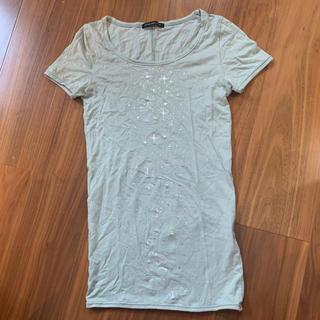 アトリエサブ(ATELIER SAB)の日本製ピスタチオグリーン☆Tシャツ(Tシャツ(半袖/袖なし))