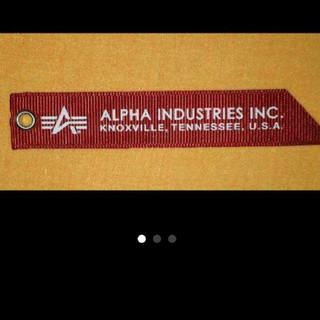 アルファ(alpha)のアルファMA1 赤タグ(フライトジャケット)