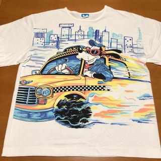 ディズニー(Disney)のディズニー Tシャツ USA製 ビッグプリント ビッグシルエット(Tシャツ/カットソー(半袖/袖なし))