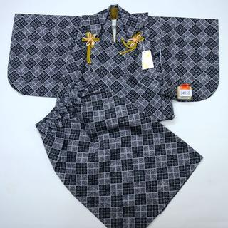 一つ身 二部式被布セット ベビー用 男児用 ポリエステル100% NO24159(和服/着物)