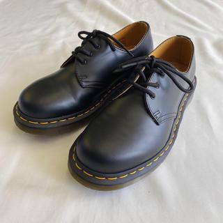 ドクターマーチン(Dr.Martens)のドクターマーチン 3ホール ブーツ ドレスシューズ ブラック 美品 ユニセックス(ドレス/ビジネス)