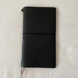 新品未使用!トラベラーズノート レギュラーサイズ ブラック 黒(ノート/メモ帳/ふせん)