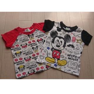 ディズニー(Disney)のディズニー 半袖 トップス セット サイズ80(Tシャツ)