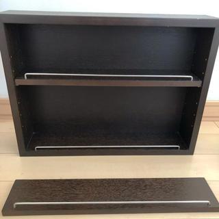 ムジルシリョウヒン(MUJI (無印良品))の無印 壁に付けられる家具 コレクションボックス(棚/ラック/タンス)