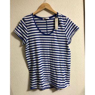 アズールバイマウジー(AZUL by moussy)の新品AZUL by moussy  ボーダーTシャツ(Tシャツ(半袖/袖なし))