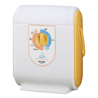 ミツビシデンキ(三菱電機)のMITSUBISHI ふとん乾燥機 「小物もほすべえ」AD-P40-D(衣類乾燥機)