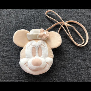 ディズニー(Disney)のDisney ミニーちゃんポシェット(キャラクターグッズ)