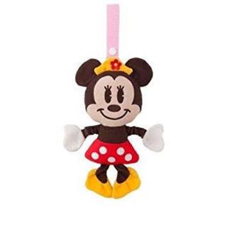 ディズニー(Disney)の【ディズニーランド限定】ミニー  ベビーカー おもちゃ(ベビーカー用アクセサリー)