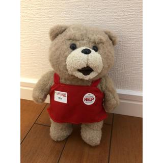 TED エプロン姿 ぬいぐるみ