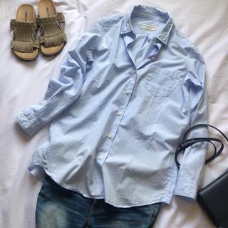 DEUXIEME CLASSE - 美品✨ドゥーズィエムクラス ワイヤーウォッシュシャツ オーバーサイズ