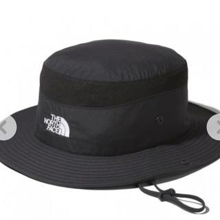 ザノースフェイス(THE NORTH FACE)の涼しい日焼け帽子に男女兼用ブリマーハットthe north faceブラックXL(ハット)