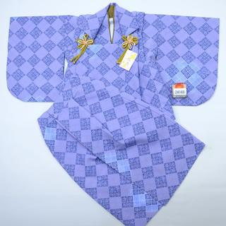 一つ身 二部式被布セット ベビー用 男児用 ポリエステル100% NO24168(和服/着物)
