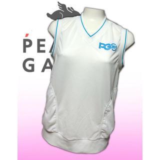 パーリーゲイツ(PEARLY GATES)の美品♡パーリーゲイツ ベスト  プルオーバー レディース  ゴルフウェア 春夏(ウエア)