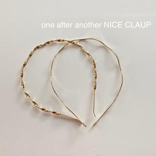 one after another NICE CLAUP - one after another NICE CLAUP カチューシャ セット
