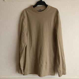 H&M - カットソー 長袖Tシャツ ベージュ
