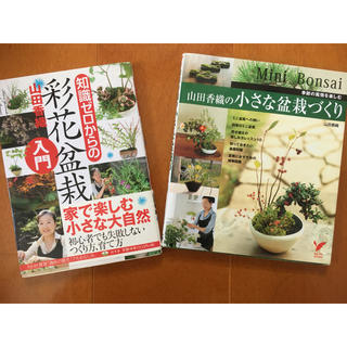 知識ゼロからの彩花盆栽 と 山田香織の小さな盆栽づくり 季節の風情を楽しむ(趣味/スポーツ/実用)