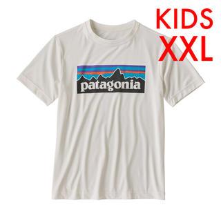 patagonia - 新品 パタゴニア キッズ キャプリーン p6ロゴ Tシャツ XXL