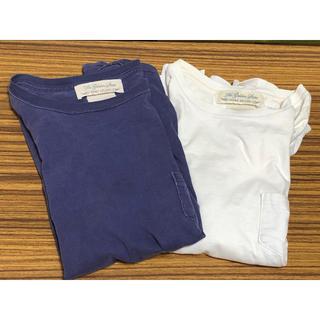 レミレリーフ(REMI RELIEF)のレミレリーフ Tシャツ2点セット 白 青(Tシャツ/カットソー(半袖/袖なし))