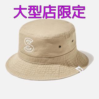 ジーユー(GU)の【新品未使用】 GU × STUDIO SEVEN バケットハット ベージュ(ハット)