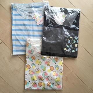 160 すみっコぐらし Tシャツ 3枚 ユニクロ