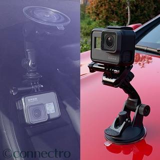 GoPro - 【新品】GoPro 車両用 超強力吸盤マウントホルダースタンド