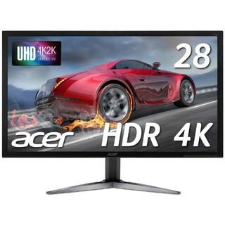 エイサー(Acer)のAcerゲーミングモニター SigmaLine 28インチ 4K KG281KA(ディスプレイ)