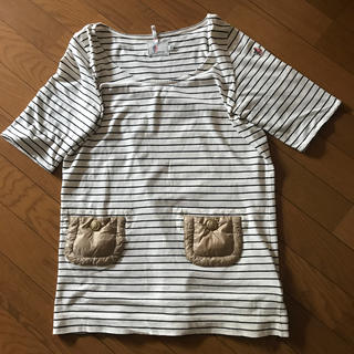 モンクレール(MONCLER)のモンクレール ボーダー カットソー(Tシャツ(半袖/袖なし))
