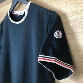 MONCLER - MONCLER モンクレール トリコロール袖 半袖Tシャツ M
