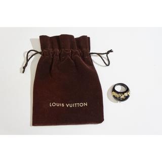 ルイヴィトン(LOUIS VUITTON)のルイヴィトン バーグ リング モノグラム スワロフスキー 513K▲(リング(指輪))