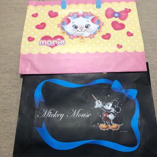 ディズニー(Disney)のディズニー ミッキー マリー ショップ袋 ショッパー(ショップ袋)