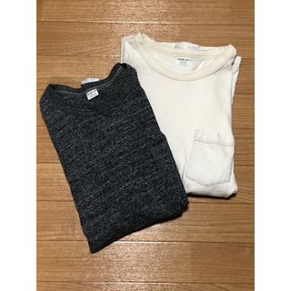 ENTRY SG  Tシャツ 2点セット 白 グレー(Tシャツ/カットソー(半袖/袖なし))