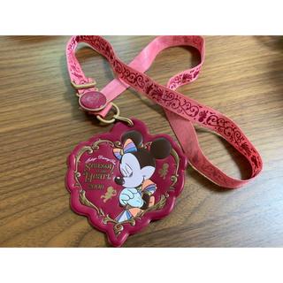 ディズニー(Disney)のSeason of the Heart2008 パスケース(キャラクターグッズ)