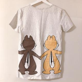 ディズニー(Disney)のバックプリントが可愛い半袖Tシャツ チップとデールプリント(Tシャツ(半袖/袖なし))