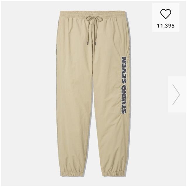 GU(ジーユー)のGU コラボ studio seven ジョガーパンツ M メンズのパンツ(その他)の商品写真
