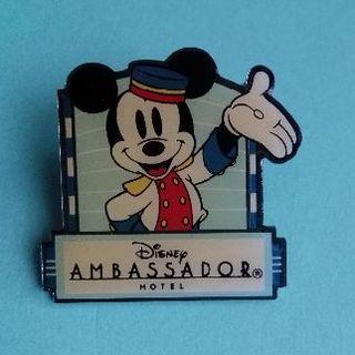 ディズニー(Disney)のディズニーアンバサダーホテル ピンバッチ(その他)