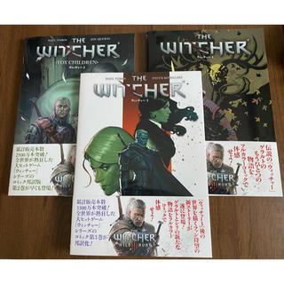 プレイステーション(PlayStation)のウィッチャー 1巻〜3巻フルカラーブックのセット(家庭用ゲームソフト)