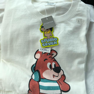 GU - Tシャツ STUDIO SEVEN コラボ