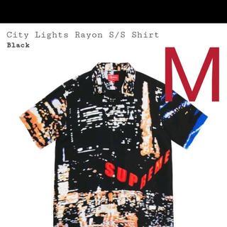 Supreme - Supreme City Lights Rayon S/S Shirt M