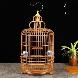 竹製 鳥かご(かご/ケージ)