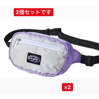 X-girl - 2個セット mini X-girl 特製 ミニウエストポーチ