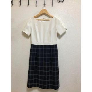Joie (ファッション) - 事務服・受付・制服 ワンピース ジャケット セット 7号