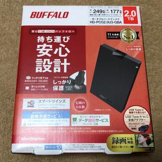 Buffalo - BUFFALO HD-PCG2.0U3-GBA